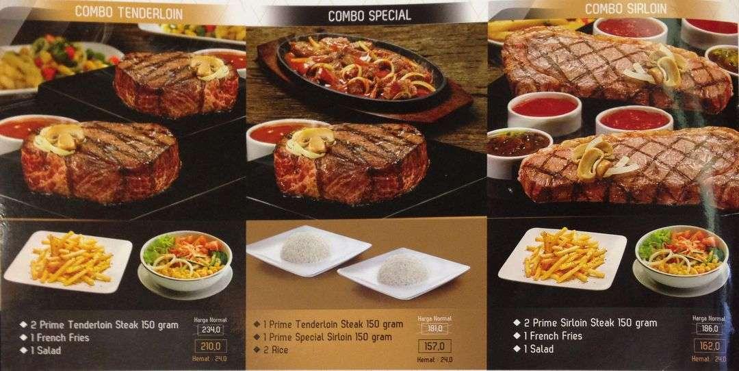 Steak 21 Medan Fair Menu Medan Crazfood