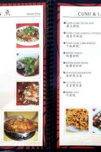 menu 1 Rasa Kita Seafood