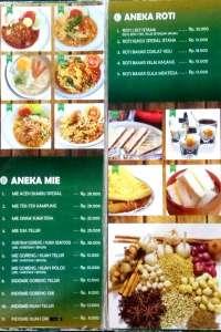 menu 1 Istana Kopi King