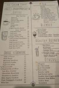 menu 1 Dough & Coffee (DOFFEE) Multatuli