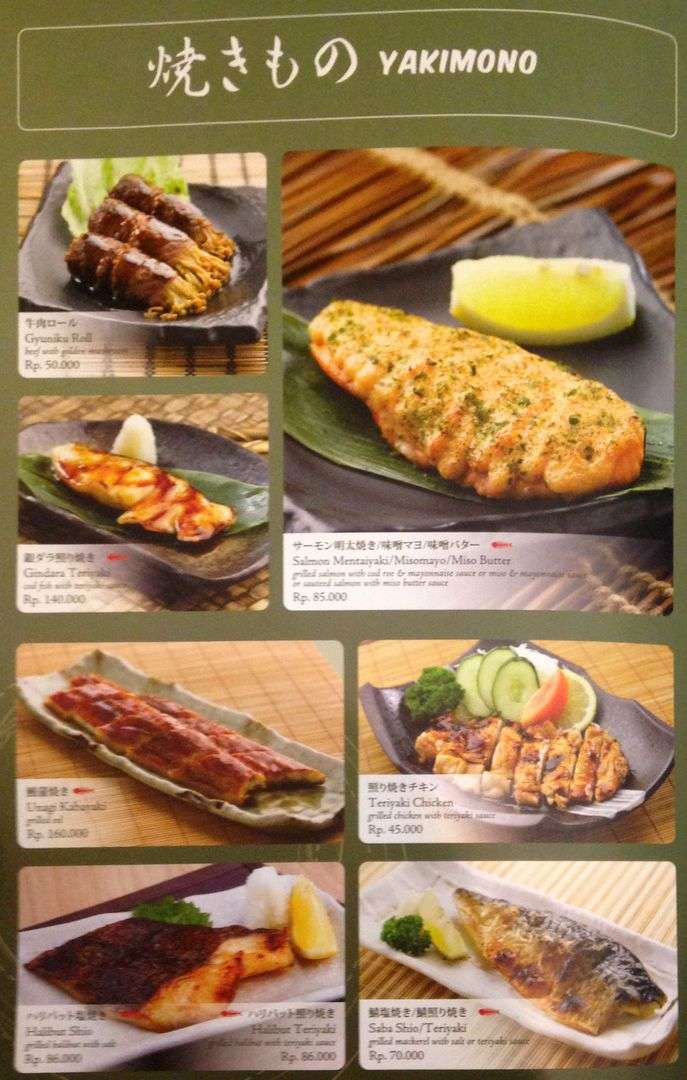Sushi Tei Centre Point Menu Medan Crazfood