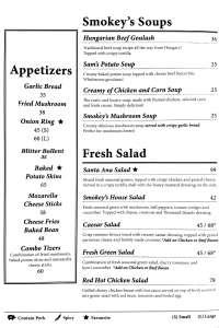 menu 1 Smokey Ribs