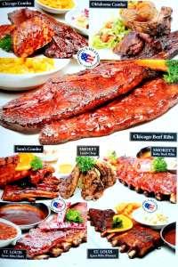 menu 4 Smokey Ribs