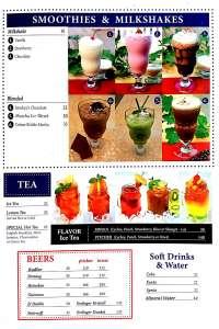 menu 12 Smokey Ribs