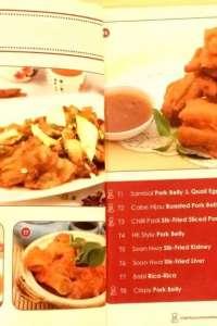 menu 3 Soon Hwa
