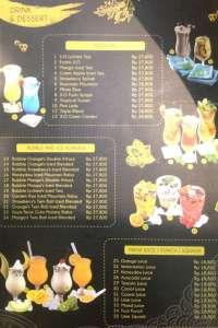 menu 1 XO Suki