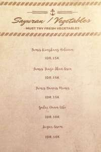 menu 7 Sowe Bistro