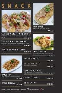 menu 1 Beans 33