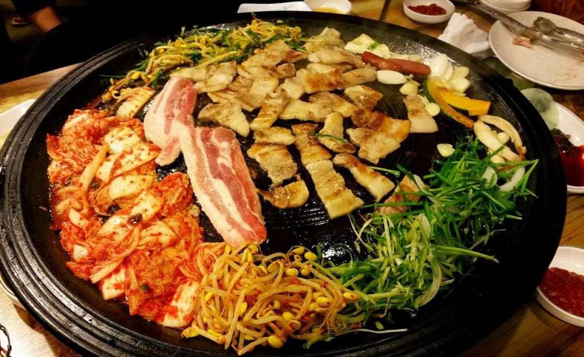 Kimchi Table and Bar