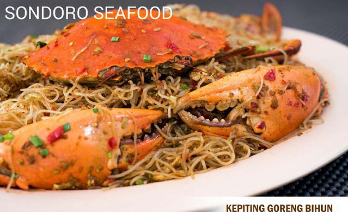 Sondoro Seafood Singapore Station