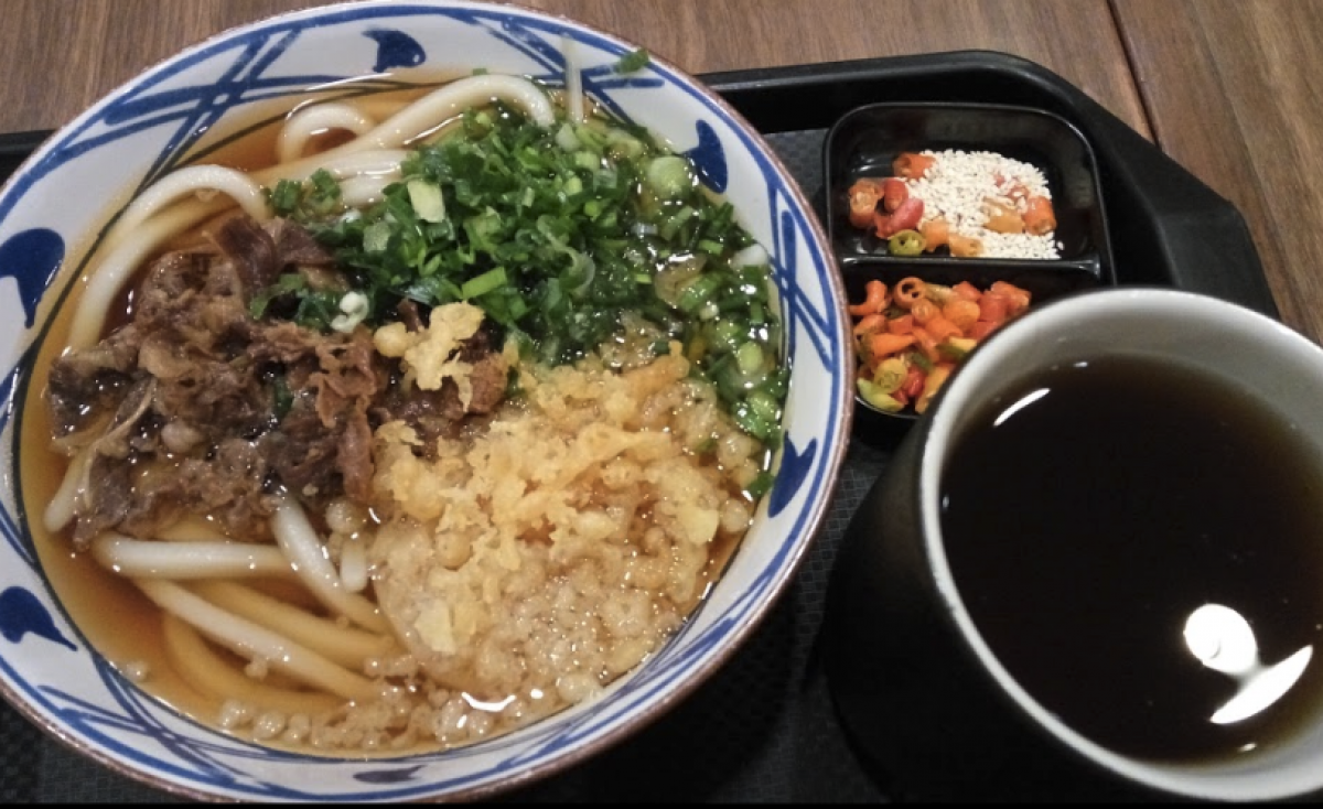 Marugame Udon and Tempura Sun Plaza
